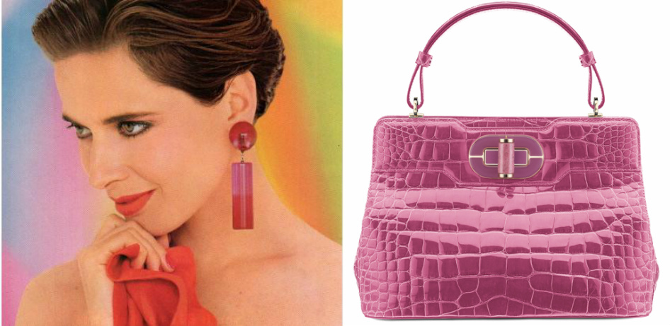 The Making of Isabella Rossellini Bulgari Handbag