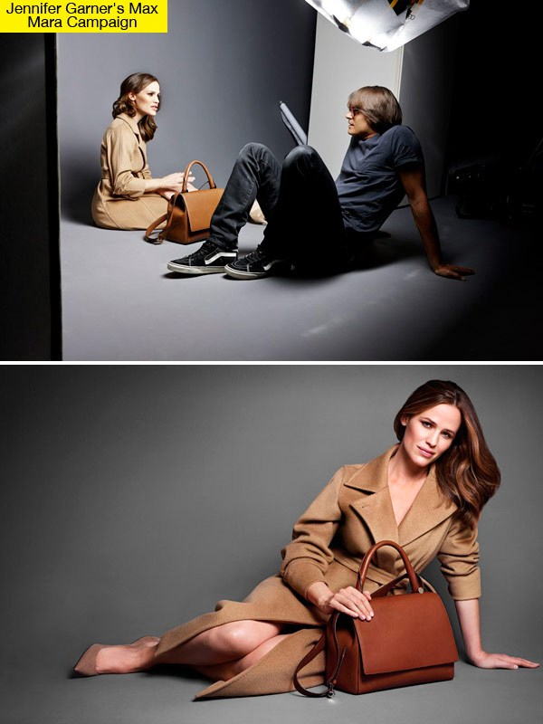 Jennifer Garner Is The New Face for Max Mara J Bag