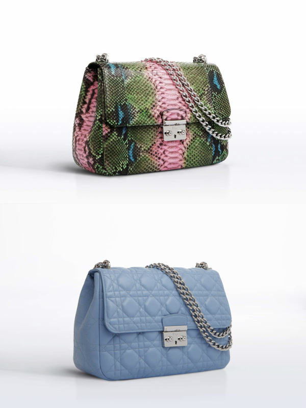 close up dior bags