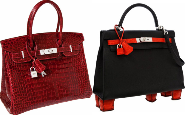 Hermes Handbags At The Center of Heritage's Lawsuit Against Christie
