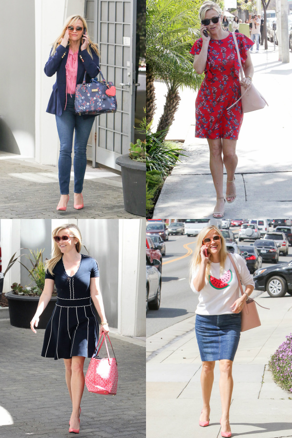 Reese Witherspoon's Inspiring Ideas on Matching Handbags and Dresses